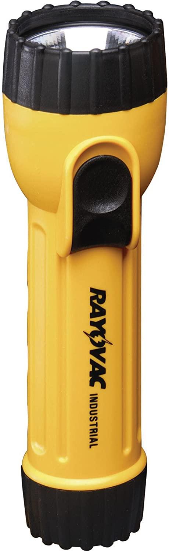 Ray-o-vac Industrial Flashlight Yellow/Black Polypropylene AA – IN4