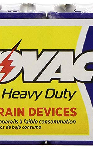 RAYOVAC-Heavy Duty 9V Size Shrink 6 pack