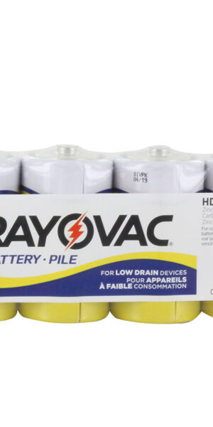 RAYOVAC-Heavy Duty D Size Shrink 6 pack