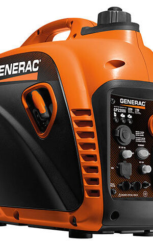 Generac GP2200i PORTABLE INVERTER GENERATOR- Model #7117