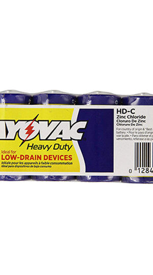 RAYOVAC-Heavy Duty C Size Shrink 6 pack