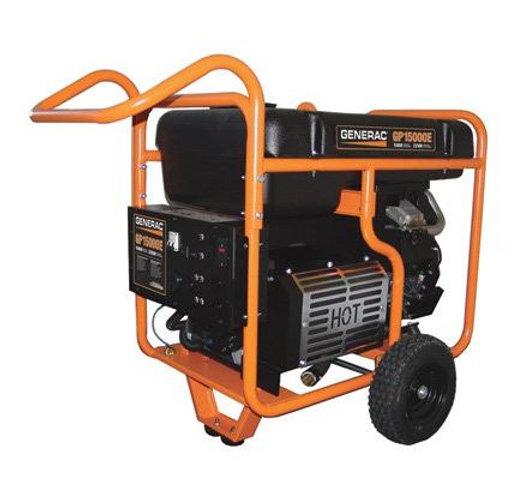 Generac GP15000E Portable Generator -Model# 5734