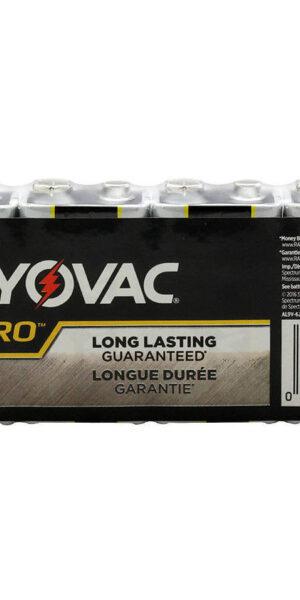 RAYOVAC-Alkaline 9V Size Shrink 6 pack
