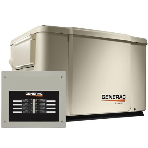 PowerPact 7.5kW Home Backup Generator - Model #6998