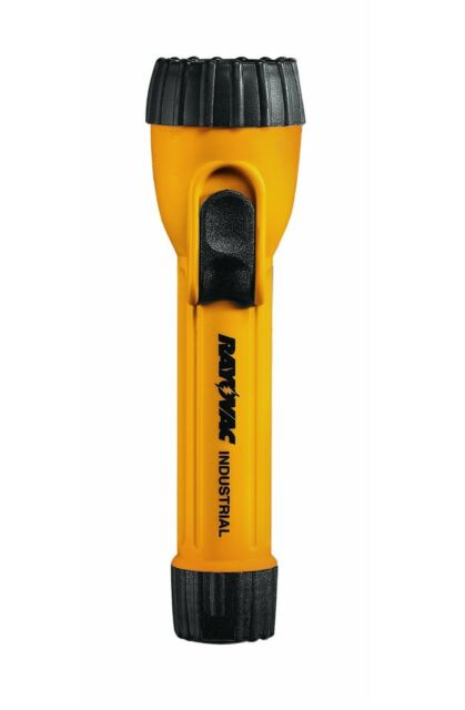 Rayovac Industrial 2D Yellow Flashlight with Krypton Bulb – IN2