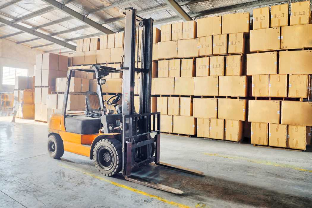 sit down forklifts