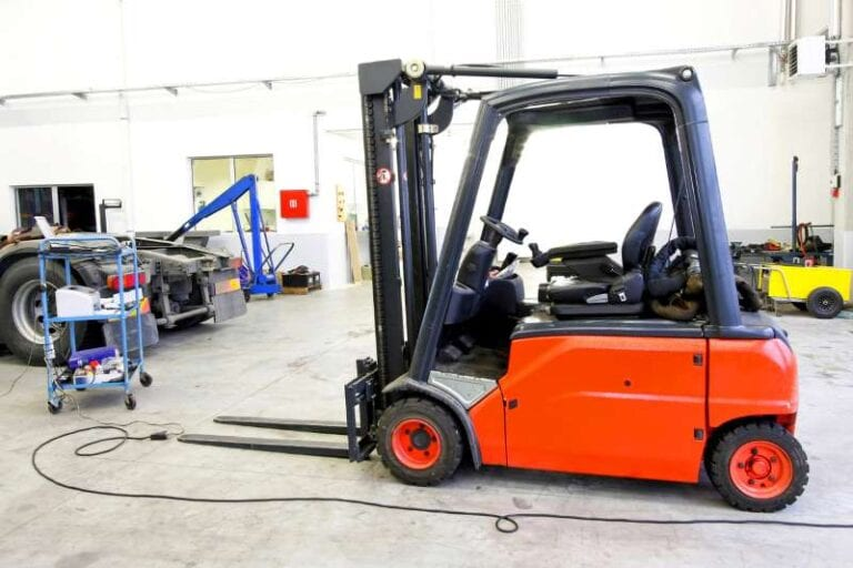used forklift photo
