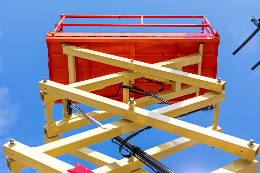 used scissor lift for sale
