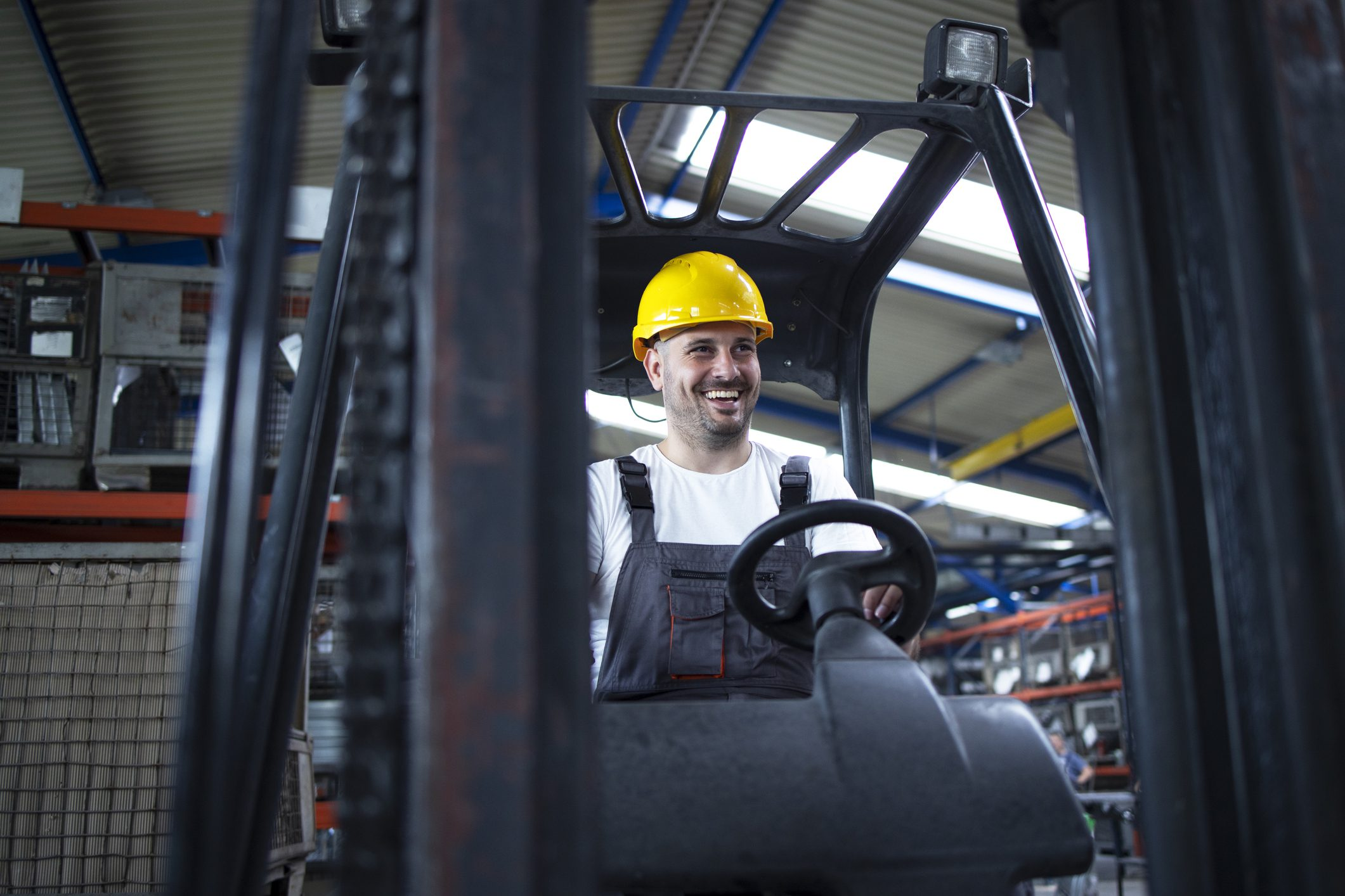 become a forklift operator