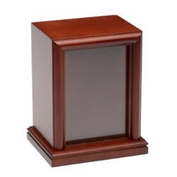 6.5 x 4.5 Photo Frame Pet Urn – B016-Large-Cherry – 100 cu. in.