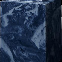 Windsor Cultured Marble Adult Urn Navy Blue - Adult - CM-W-NAVY-BLUE-A