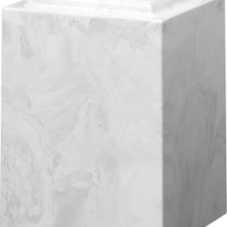 Windsor Cultured Marble Adult Urn White Carrera - Adult - CM-W-WHITE-CARRERA-A
