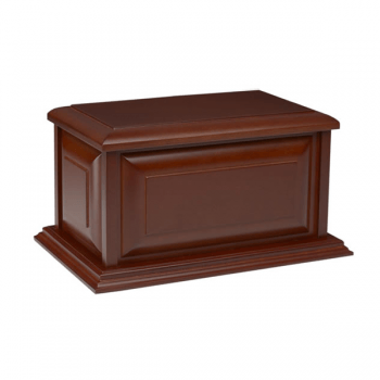 Affordable Colonial Urn in Cherry Finish