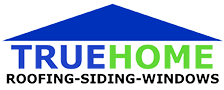 TRUEHOME Roofing Logo