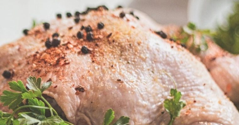 Roast Goose with Fruit Stuffing
