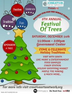 5th Annual Festival of Trees @ Fall River Government Center