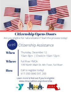 Citizenship Clinic @ Fall River YMCA
