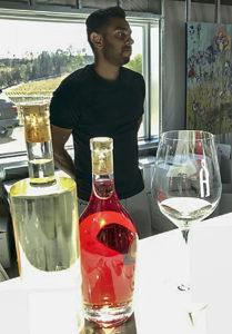 Toasting Food Wine Travel at Akash Winery