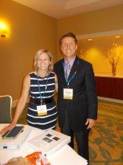 Lee Ann Barnhardt and William Brunson, co-facilitators of the needs assessment session