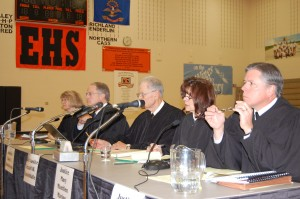 Court in schools in North Dakota