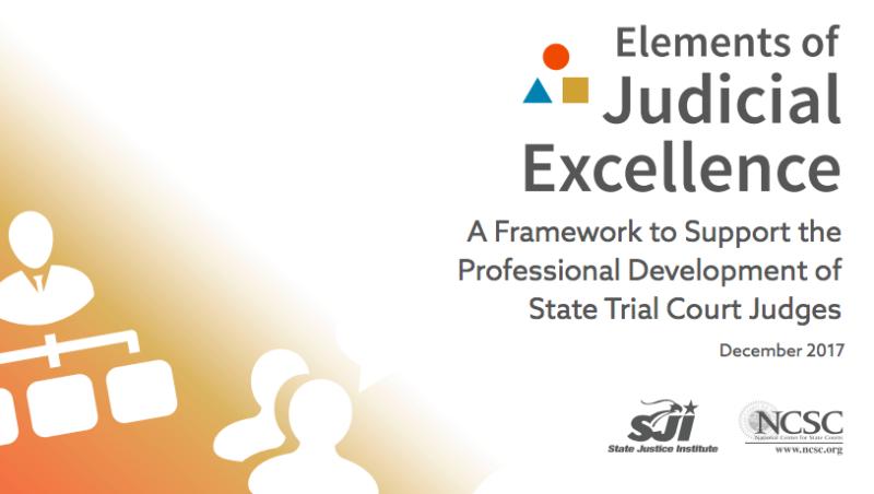 Elements of Judicial Education
