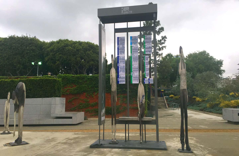 Yi Hwan Kwon   West Hollywood Public Art