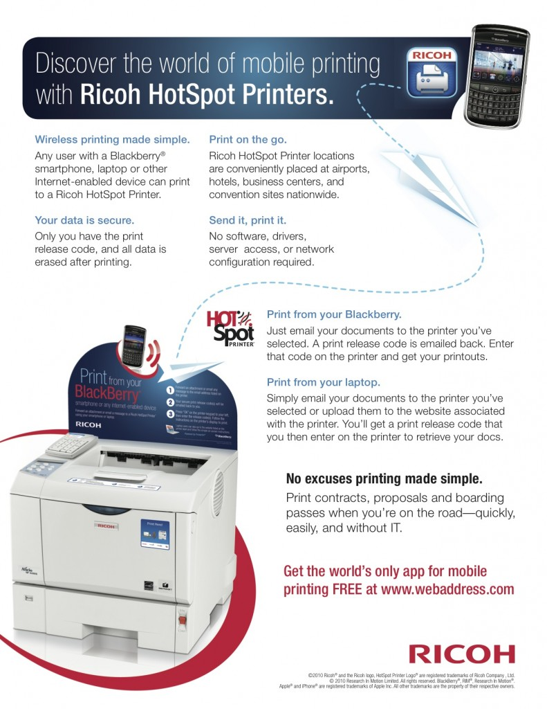 Ricoh Hot Spot Sell Sheet - Page 2