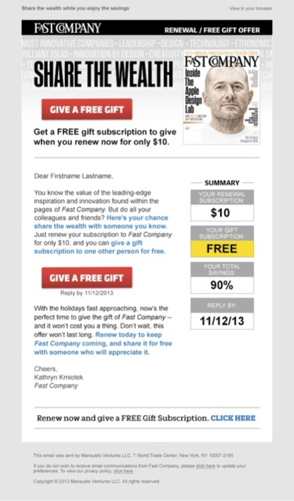 Copywriting for a lead generating email for a business-to-business audience