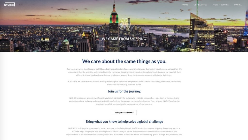 New York Shipping Exchange