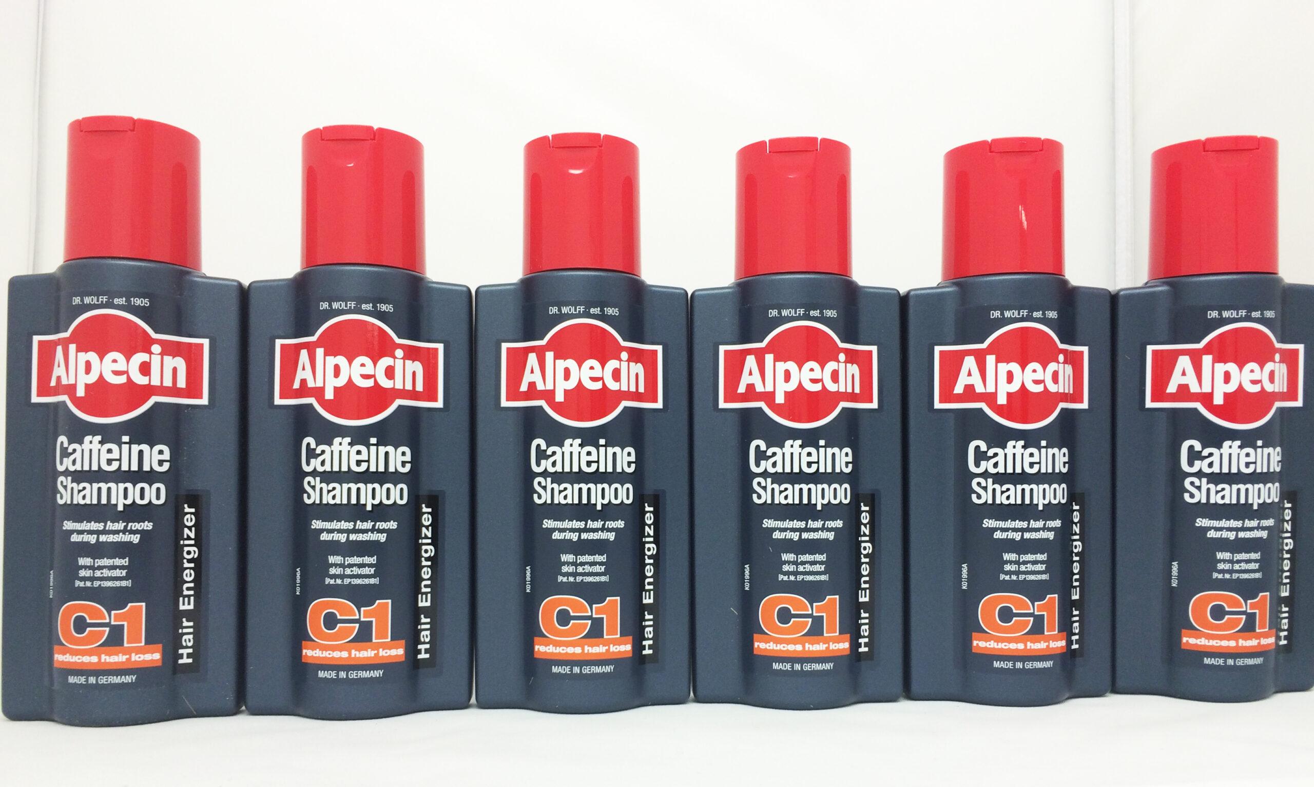 Alpecin Caffeine Shampoo 250ml - pack of 6 **MULTIPACK - SAVE MONEY**