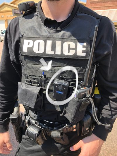 Community benefits from police body cameras