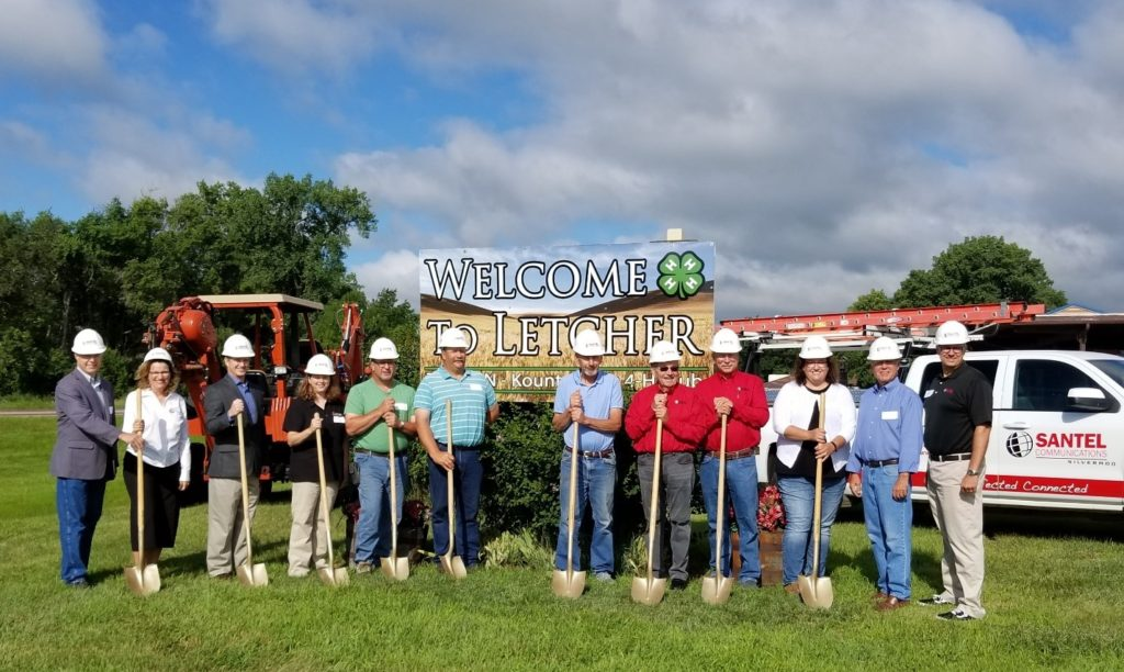 Santel's Big Dig Groundbreaking Ceremony