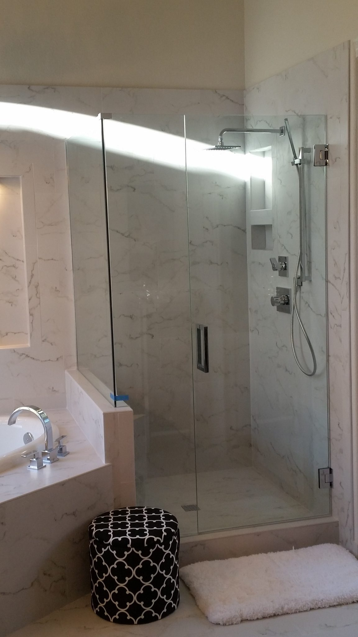 Arizona Tub Shower Combination A Cut Above Glass