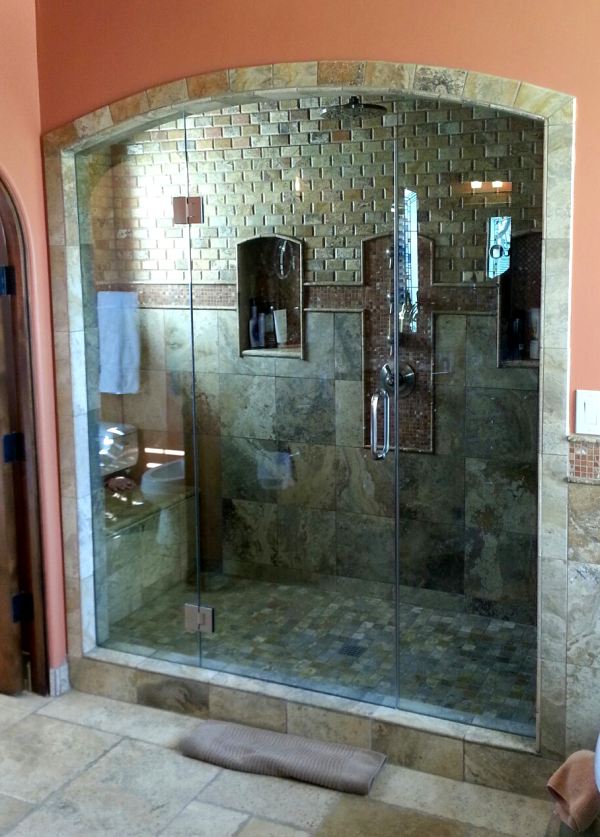 Frameless shower doors scottsdale