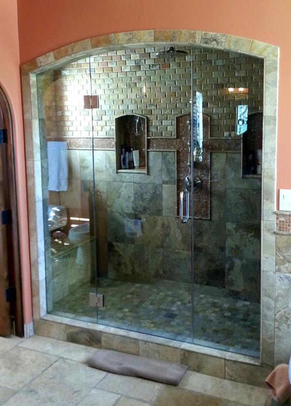 Frameless shower doors scottsdale