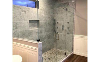 Walk in Frameless Shower