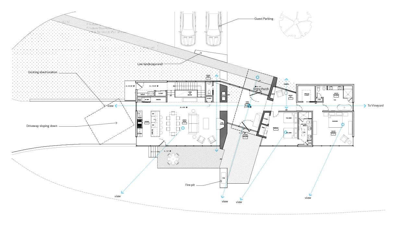 Mountain Retreat | Ground Floor Plan