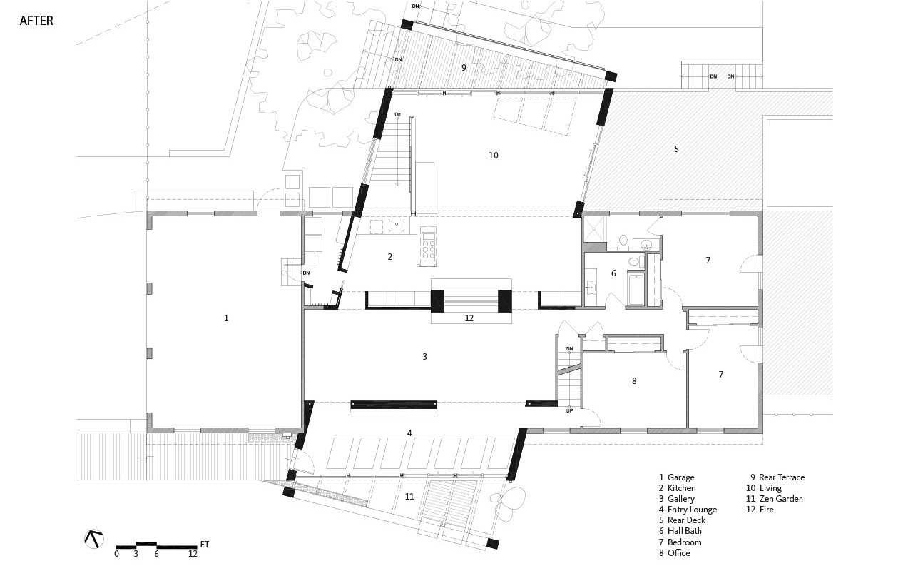 Cross House | Floor Plan