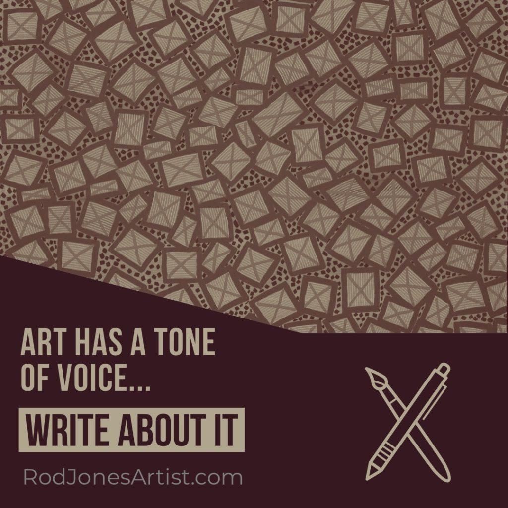 Art Has A Tone of Voice