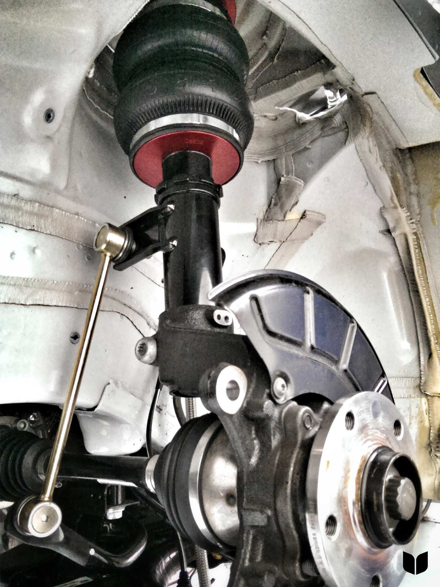 Air Suspension Front Driver Install