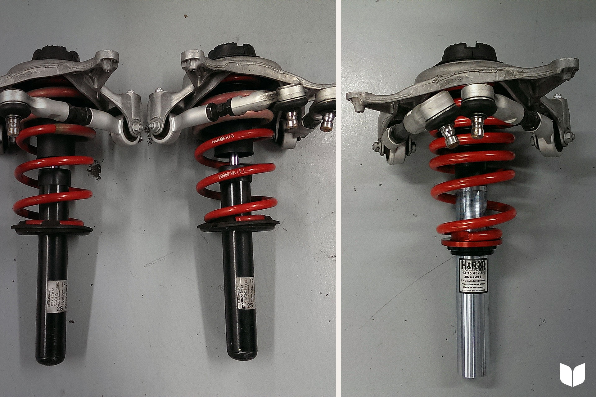 H&R Springs vs. H&R Coilovers