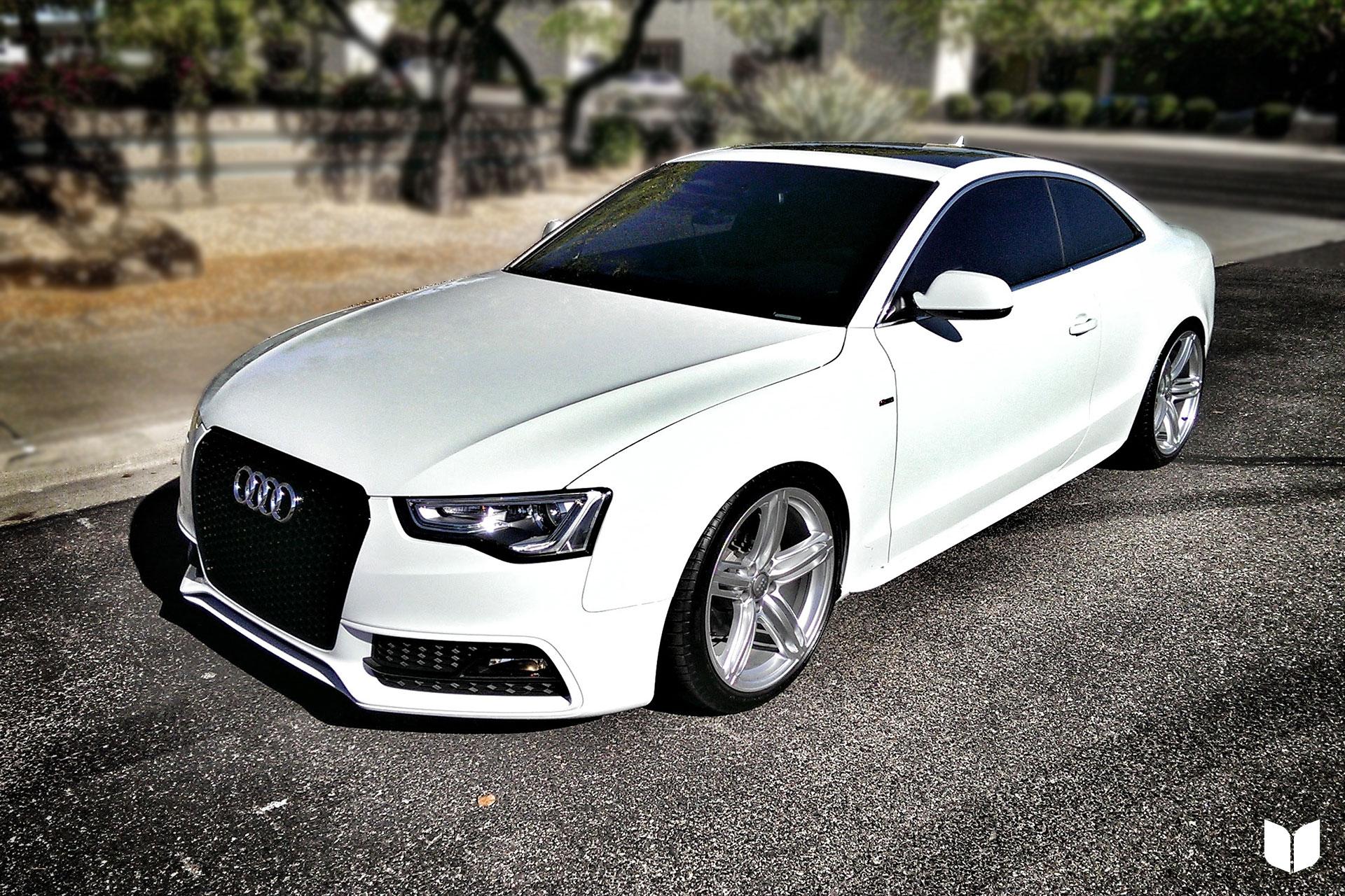 2013 Audi B8 A5 S-line quattro H&R coilovers ecodes Parts Score Scottsdale