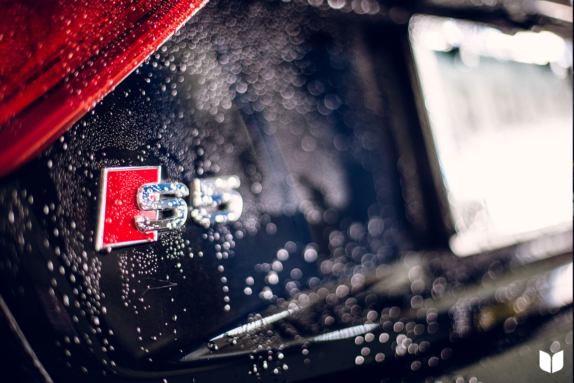 Audi B8 S5 receiving a bath before the final client presentation