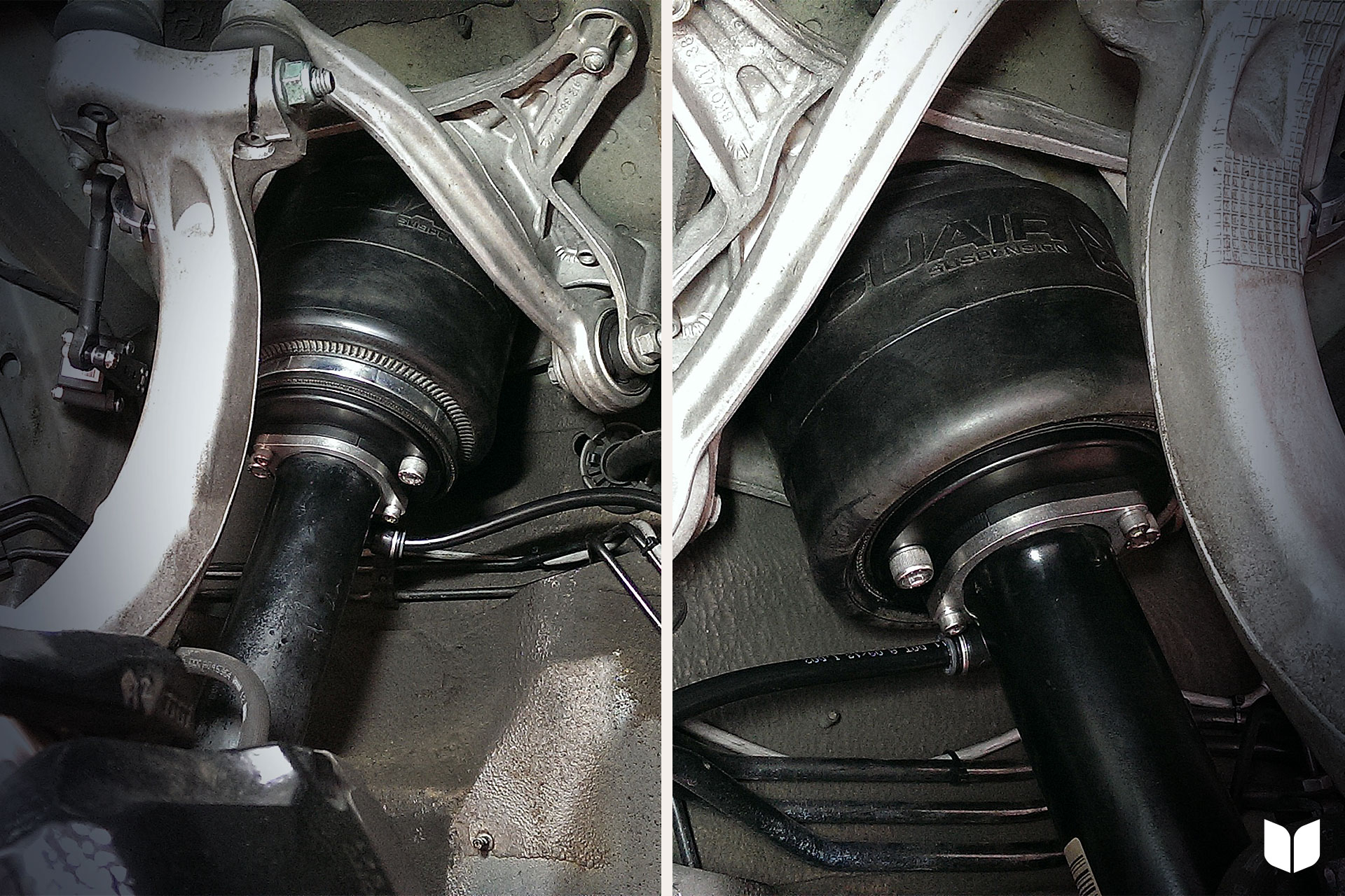 The Front Air Bag Install