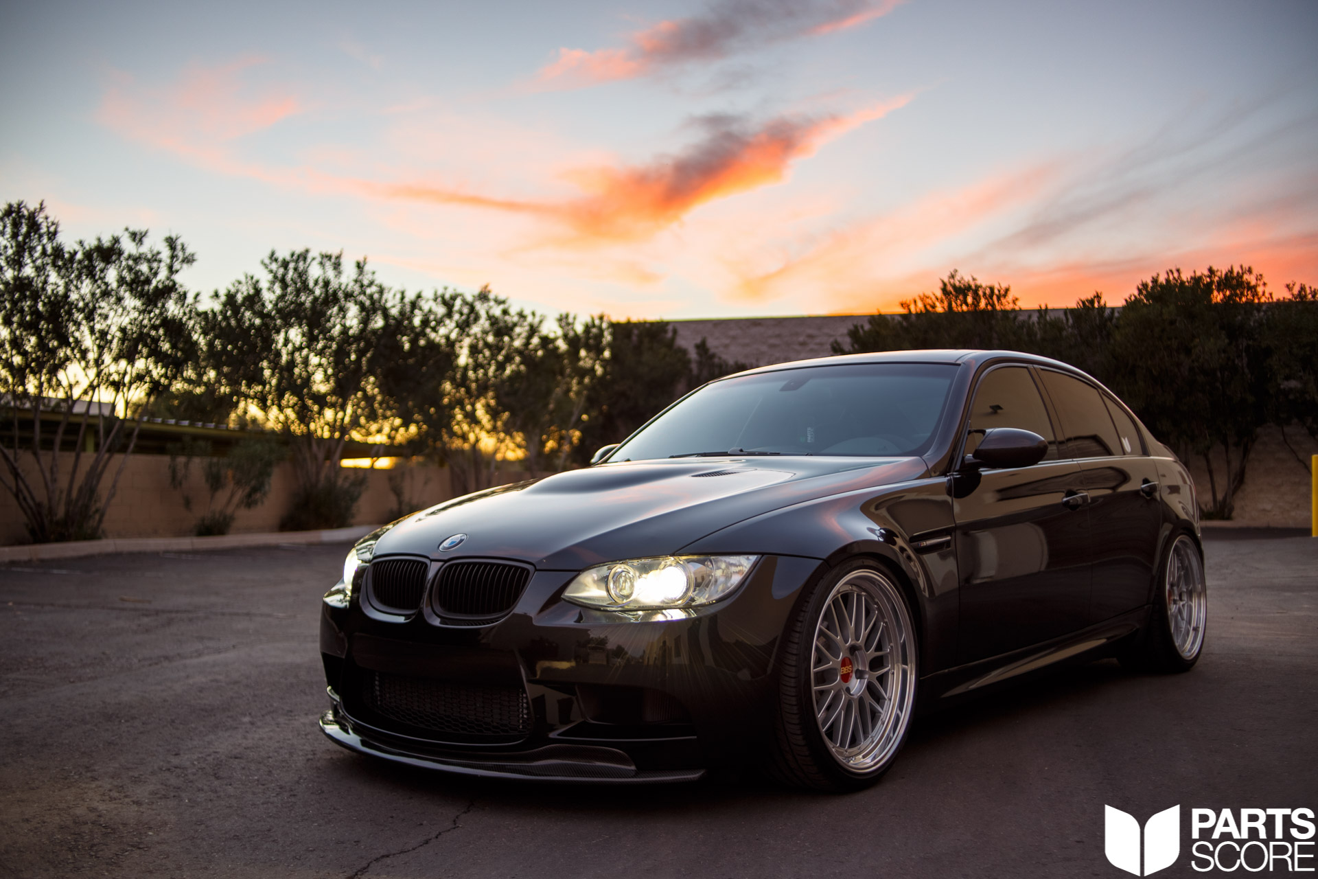 """ESS Tuning 625HP Supercharger Kit, KW V3 Coilovers, 20"""" BBS LM's mirror polished with Toyo Proxes T4+'s, Macht Schnell Mid Section, Dinan Rear Section, Carbon Fiber Front Lip, parts score, bmw, bmw m, bmw m4, bmw performance, bmw performance arizona, bmw performance scottsdale, bmw performance az, az bmw"""