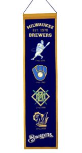 Heritage Banner - Milwaukee Brewers