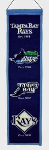 Heritage Banner - Tampa Bay Rays