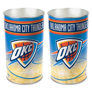 Tapered Wastebasket - Oklahoma City Thunder