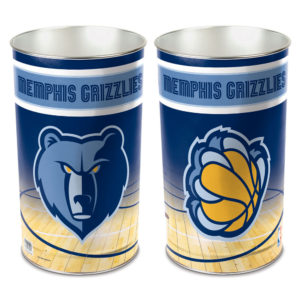 Tapered Wastebasket - Memphis Grizzlies