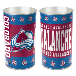 Tapered Wastebasket - Colorado Avalanche